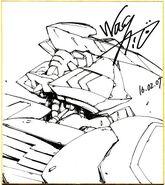 Gundam Barbatos by Naohiro Washio 02