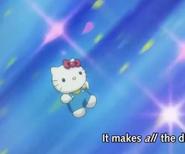 Hello Kitty in Gundam