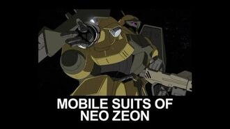 MSUC36 MOBILE SUITS OF NEO ZEON(from Mobile Suit Gundam UC)