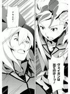 Asemu vs Zeheart Manga
