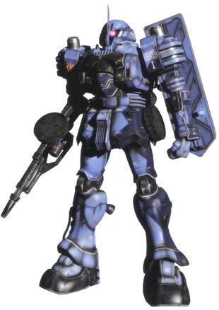 Commander type - Front