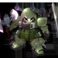 Unit c slash zaku warrior