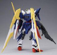 XXXG-01Wfr-A Gundam Fenice Rinascita Alba (Gunpla) (Rear)