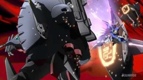 087 ZGMF-X42S Destiny Gundam (from Mobile Suit Gundam SEED Destiny)