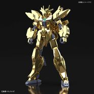 Earthree Gundam Gold Coating (Gunpla) (Front)