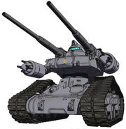 Guntank Early Type OVA