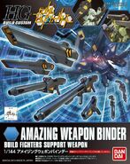HG Amazing Weapon Binder