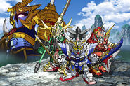 SD Gundam Sangokuden Brave Battle Warriorsoriginal