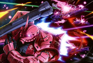 MS-06S Char's Zaku II (Mobile Suit Bible Vol 02)