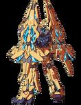 RX-0 Gundam Unicorn 03 Fenex - Rear