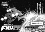 Mobile Suit Gundam F90 Fastest Formula