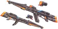 Long Mega Buster - Full Armor Hyaki Shiki Kai
