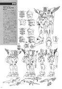 F91 Gundam F91 Lineart