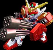 Gundam Heavyarms Custom From SD Gundam G Generation Cross Rays.