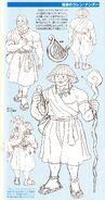 Turn A Gundam Corin Nander Monk Details