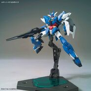 Earthree Gundam (Gunpla) (Action Pose)