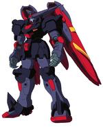 GF13-001NHII Master Gundam Attack Mode Front