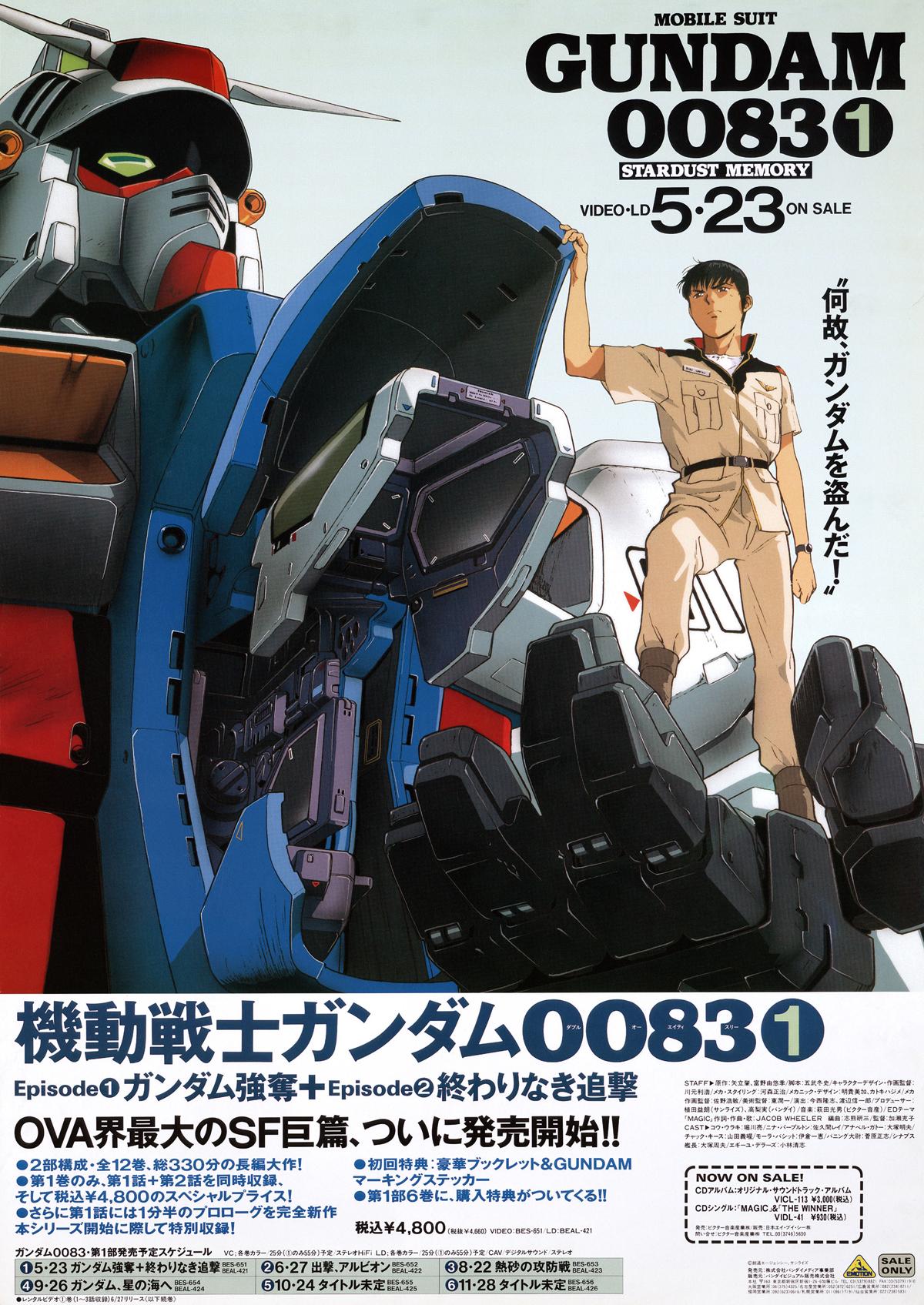 mobile suit gundam 0083 stardust memory episode 1 english dubbed