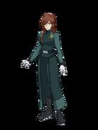 G Gen Cross Rays Custom Character (Female A-Laws Uniform)