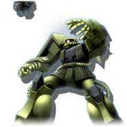 Gundam Diorama Front 3rd MS-06 Borjarnon