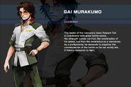 Gundam SEED DESTINY ASTRAY B Character Gai Murakumo