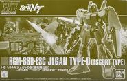 HGUC Jegan Type D Escort Type