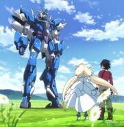 PFF-X7-E3 Earthree Gundam (Ep 19) 02