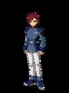 G Gen Cross Rays Custom Character (Male EA Uniform)