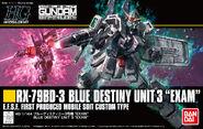 HGUC Blue Destiny Unit 3 EXAM