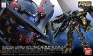 RG Gundam Astray Gold Frame Amatsu Mina