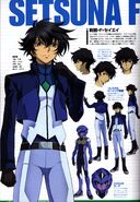 Setsuna F Seiei - 2nd Season - Specs and Character Design