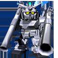 Unit ar g3 gundam twin bazooka