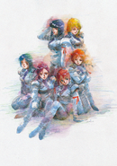 Victory Gundam Novel Shrike Team