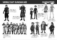 Novel Characters Sheet 2