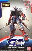 RG Gundam Astray Red Frame docks at Taiwan
