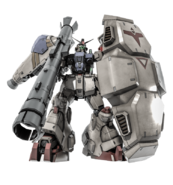 RX-78GP02A Gundam GP02A Beam Bazooka Type BO2