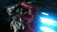 Twilight Axis Red Blur - Zaku III 08