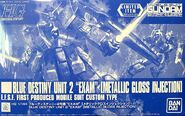 HGUC Blue Destiny Unit 2 EXAM -Metallic Gloss Injection-