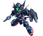 Astraea Type F Black SD Gundam G Generation Cross Rays