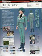 Kamille Character Profile Gundam Perfect File 11