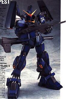 RX-178-4 Gundam Mk-II Unit 4
