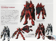 Testament Gundam Information