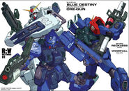 Three Blue Destiny MS