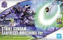 HGCE Strike Gundam SANFRECCE HIROSHIMA Ver