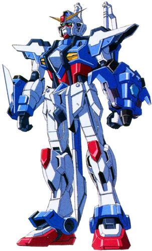 Caliburn Raigo Gundam (Front)