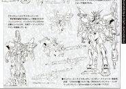 GAT-X105AQME-X03 Launcher Strike Gundam - Technical Detail and Design