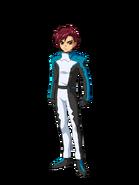 G Gen Cross Rays Custom Character (Male EA Pilot)