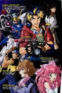 Mobile Suit Gundam SEED Destiny Astray Characters 243
