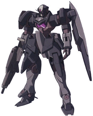 Front (Commander w/GN Beam Rifle and Shield)