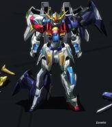 TBG-011B Try Burning Gundam Repaired